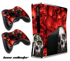 Skin Decal Wrap for Xbox 360 Slim Gaming Console & Controller Xbox360 Slim BC R
