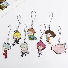 3'' The Seven Deadly Sins Bag Charm Mobile Phone Gowther Ban Meliodas Diane King