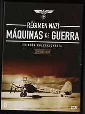 MÁQUINAS DE GUERRA: RÉGIMEN NAZI. (5 DVD, duración 500 minutos)