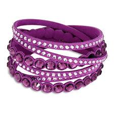 Swarovski Slake Purple Dot Bracelet 5201123