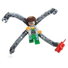 LEGO Super Heroes: Spider-Man MiniFigure - Doc Ock (White Lab Coat)  Set 76015