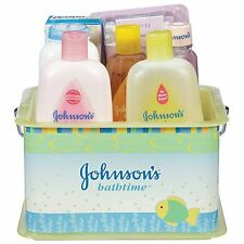 Johnson's Baby Bath Set Lotion Kit Gift Bathtime Wash Shampoo Diaper Scent NEW