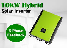 3 phase 10kw Hybird Solar inverter Grid tied PV + off grid 900vdc PV input