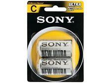 Sony S-SUM2NUB2A Heavy-Duty / Carbon Zinc Batteries (D; 2 pk)