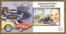 St. Vincent 1987 Classic Cars/Henry Ford/Transport/Motors/Motoring 1v m/s s3872b
