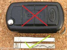 LAND RANGE ROVER SPORT DISCOVERY 3 REMOTE KEY FLIPBLADE ONLY CUT TO CODE