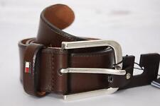 Tommy Hilfger Herren Gürtel Ranger Belt, Braun, Gr. 85