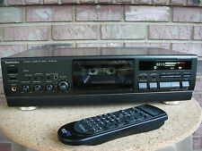 Technics RS-BX747 Top of Line Three Head Remote Control Cassette Deck  120/220v