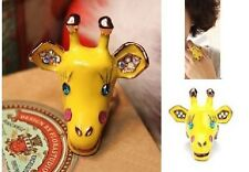 R36 Betsey Johnson Exquisite Giraffe Lion King Ring US