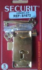 """Securit 2 1/2"""" traditional cupboard lock Brand New"""