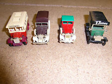 vintage model cars/vans by lledo