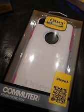OTTERBOX On-the-Go Protection COMMUTER Series Case iPhone 6/6s ROSE/WHITE BNIB