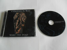 COMEBACK KID - Wake the Dead (CD 2005) Hardcore /USA Pressing