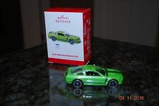2013 Hallmark Ford Mustang Boss 302 Classic American Car Xmas Keepsake Ornament