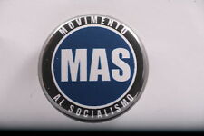 Bolivia Bolivian MAS Movement for Socialism Evo Morales Party Badge Pin Button