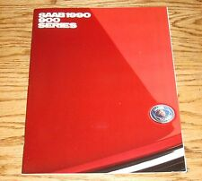 Original 1990 Saab 900 Series Sales Brochure 90
