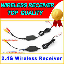 Funk 2,4GHz Wireless Sender Empfänger Kamera Video Rückfahrkamera Monitor GPS