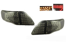 Toyota Corolla Altis LED Taillight Rear Lamps Fit 2008-2011 Smoke Color Pair