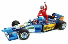 MINICHAMPS 181 952701 Benetton Renault B195 model F1 car Alesi Schumacher 1:18