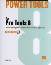 Rick Silva Power Tools For Pro Tools 8 BOOK DVD GUIDE