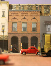 #314 O scale background building flat  CITY ART BUILDING   *FREE SHIPPING*