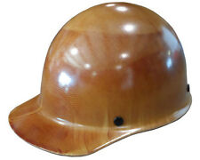 NEW MSA Skullguard Cap Style Hard Hat, Tan Skullgard with Staz On Suspension