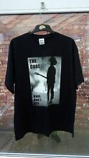 UNWORN THE CURE BOYS DON'T CRY GILDAN BLACK BAND T-SHIRT SIZE L