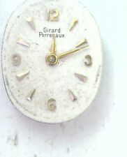 Antique Gerard Perregaux 17j Swiss Watch Movement No Crown Steampunk  #P338