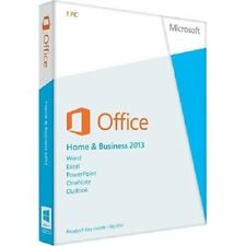 LICENZA MICROSOFT OFFICE 2013 HOME AND BUSINESS 32/64 BIT | ORIGINALE | FATTURA