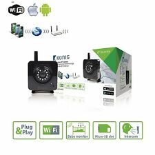 Sans fil wifi caméra ip home security network cctv P2P ir vision nocturne noir