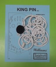 1962 Williams King Pin pinball rubber ring kit