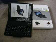 SAMSUNG P3100/6200 BLUETOOTH DONGLE KEYBOARD COVER CASE NEW BLACK