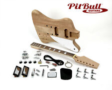 Pit Bull Guitars FB-1M Electric Guitar Kit (Mahogany)