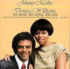 Johnny Mathis Too Much, Too Little, Too Late CD