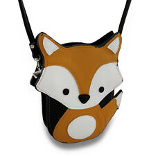 Sleepyville Critters Fox Cross Body Bag Mini Purse