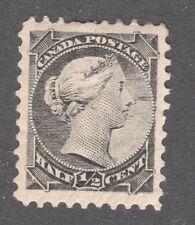 CANADA STAMP #34  --  1/2c SMALL QUEEN  —  1882 — UNUSED