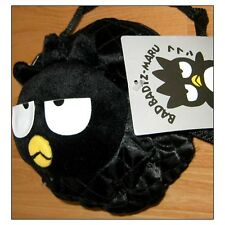 Bad Badtz Maru Penguin Sanrio Hello Kitty Purse Waist Bag Fanny Pack Black RARE!