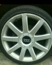 1 x audi wheel centre cap 147mm. (56-58mm fitting on rear)