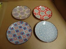 4 lot set - Pottery Dish set (4 plates) Hand Crafted in Poland - A7-22
