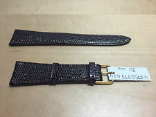 New - MORELLATO Brown Leather Strap 20 mm - Correa Piel Marrón 20 mm - Nueva