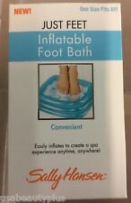 Sally Hansen Just Feet Inflatable Foot Bath NEW.
