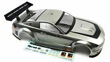 SPRINT 2 hpi SILVER MUSTANG GTR BODY shell Cover  (Flux 106162)