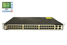 CISCO CATALYST WS-C3750-48PS-S 3750 48 10/100 PoE SWITCH *12 MONTH WARRANTY*