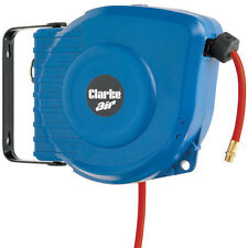 "Clarke CAR9PC 9m retractable air hose reel 1/4"" bsp"