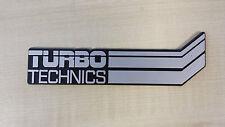 GENUINE Original Turbo Technics Badge