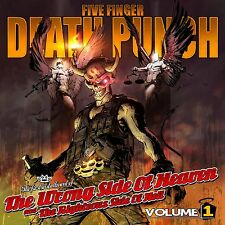 FIVE FINGER DEATH PUNCH CD - WRONG SIDE OF HEAVEN...VOL.1 (2013) - NEW UNOPENED