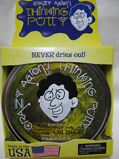 "SUPER OIL SLICK Super illusions Crazy Aaron's Thinking Putty Large 4"" tin 3.2 oz"