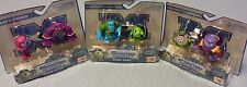 Disney Monsters Inc University Scare Pairs Figure NEW Sulley Mike Squishy + LOT