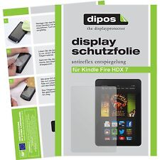 2x Amazon Kindle Fire HDX 7 screen protector protection guard anti glare