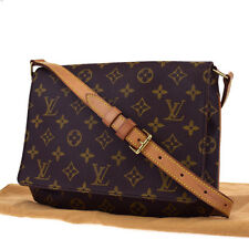 Authentic LOUIS VUITTON Musette Tango Short Shoulder Bag Monogram M51257 65W594